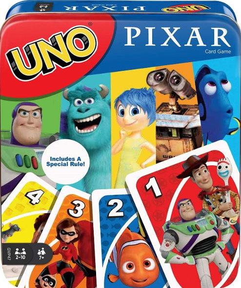 Disney Pixar 25th Anniversary Uno