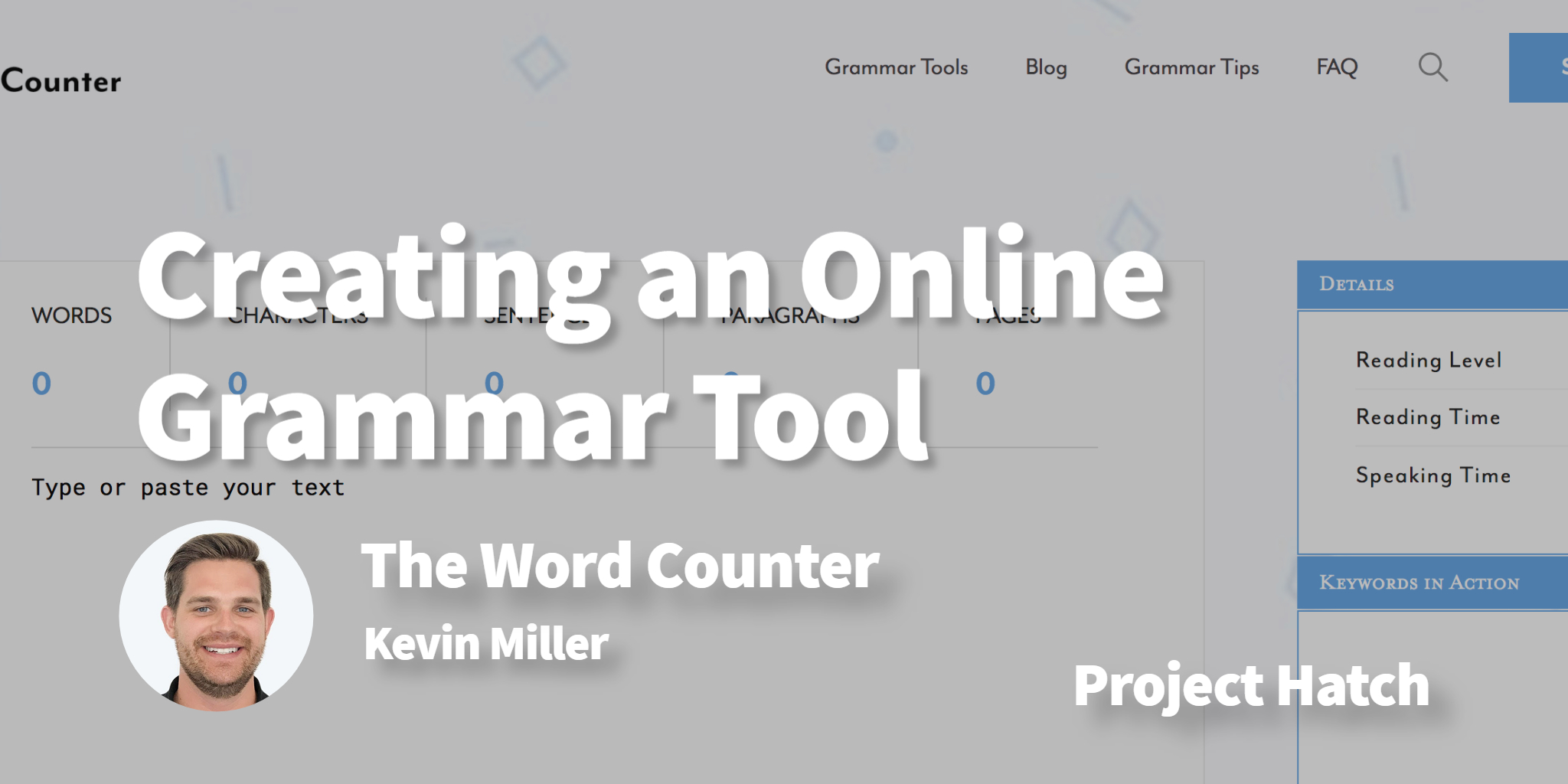 The Word Counter Kevin Miller