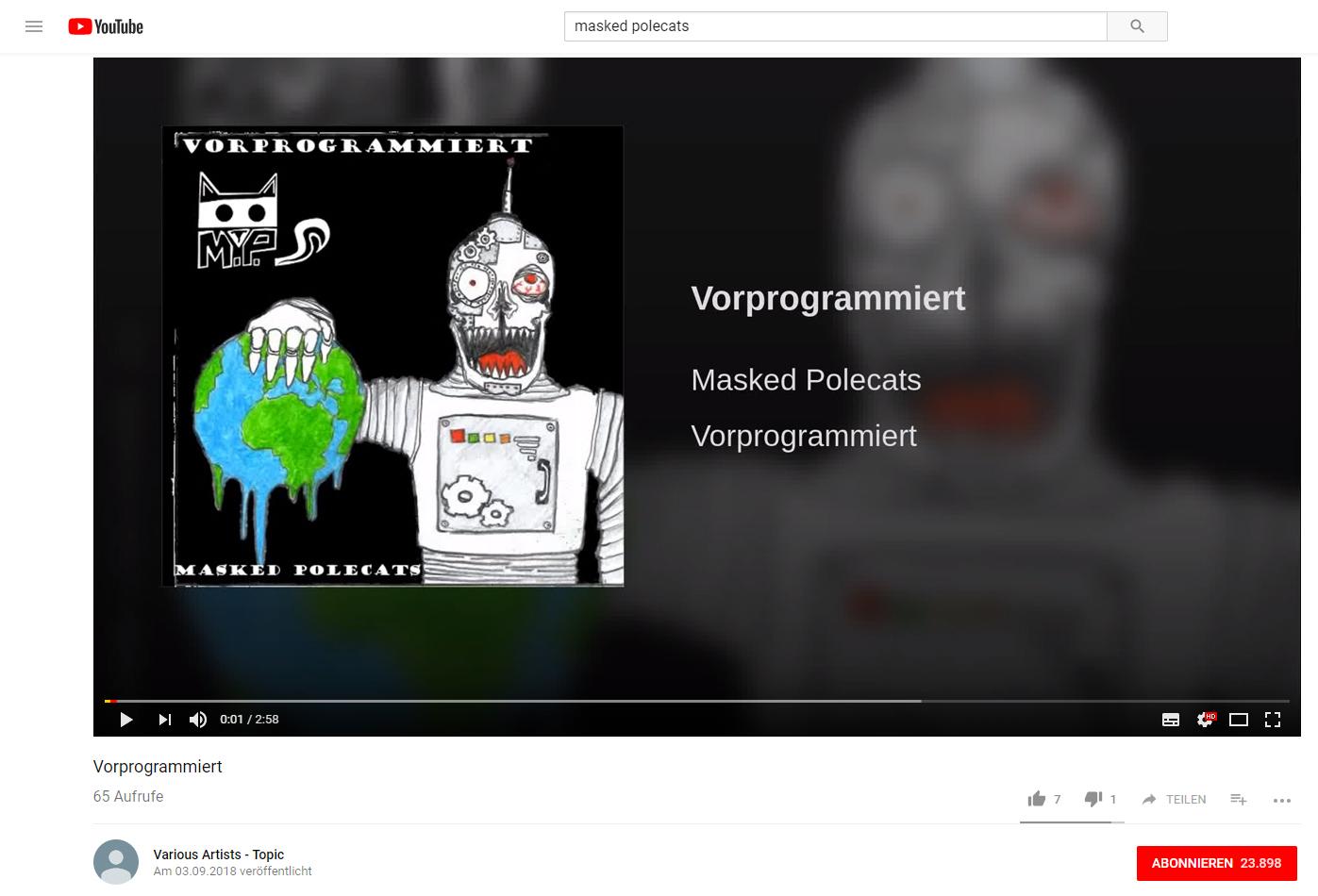 YouTube verwirrt Musiker mit neuer YouTube Music Verknüpfung