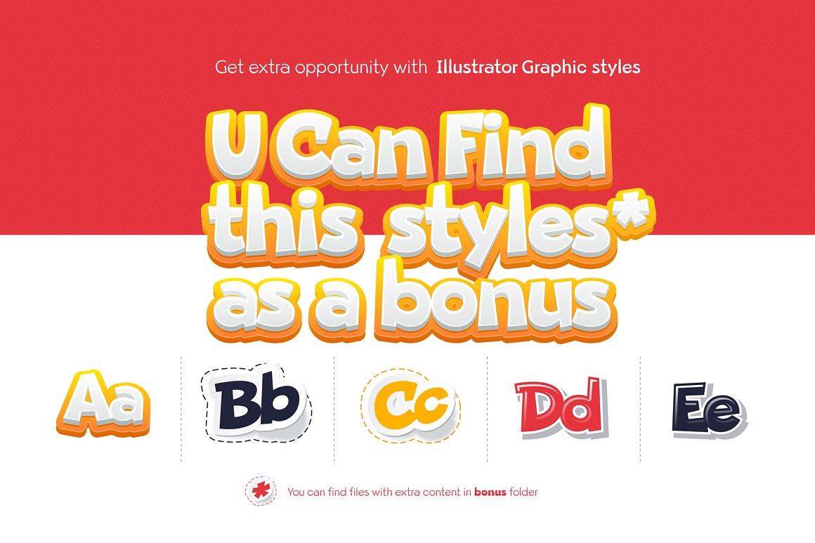 Beebzz fun kidzz font images/beebz-child-font-free_4-04.jpg