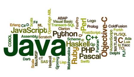 A bunch of programming languages