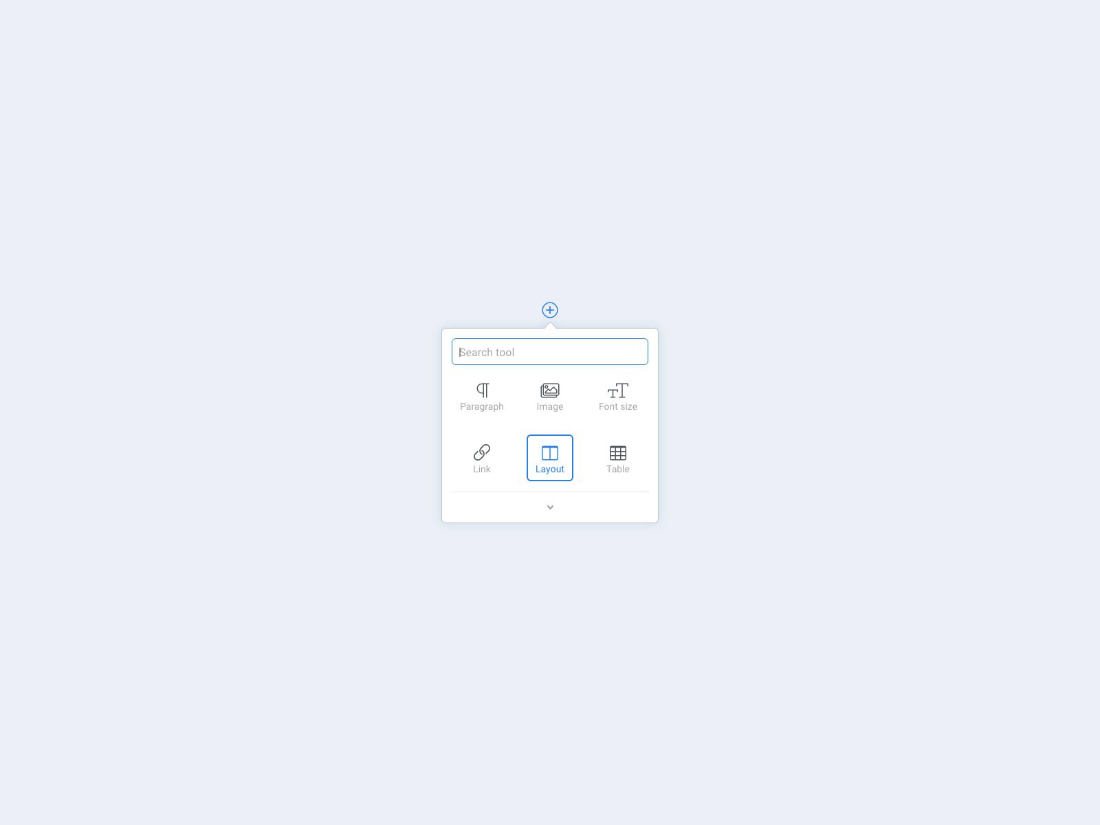 Content editor ui component 1