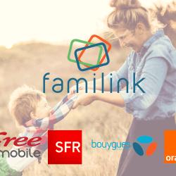 Couverture du cadre photo Familink en 3G