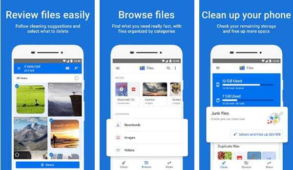 Files by Google – Shareit, Xender Alternative