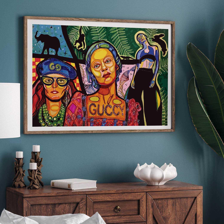 Guccy Art Print