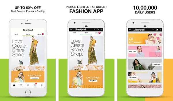 Limeroad Shopping App for clothing