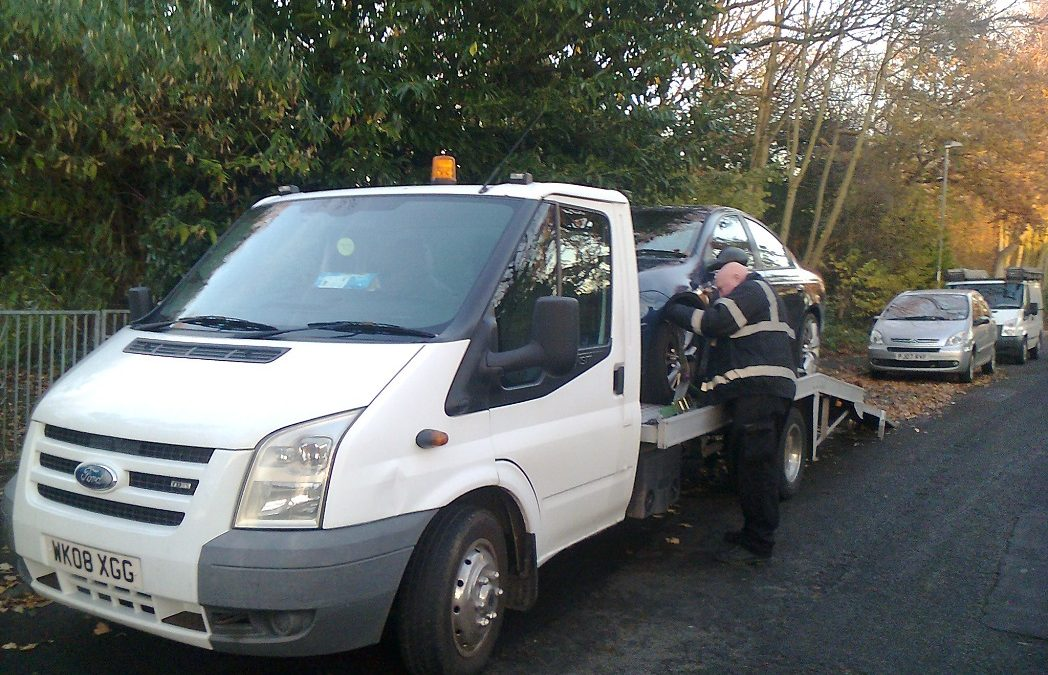 Scrap cars Bought In Leyland, Lancashire – Chrysler Neon