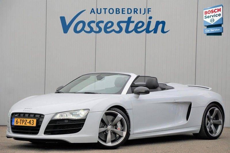 Audi R8 Spyder 5.2 V10 FSI / Akrapovic / Carbon Pack / B & O / Ceramic / Camera / Audi Exclusive / Cruise afbeelding 7