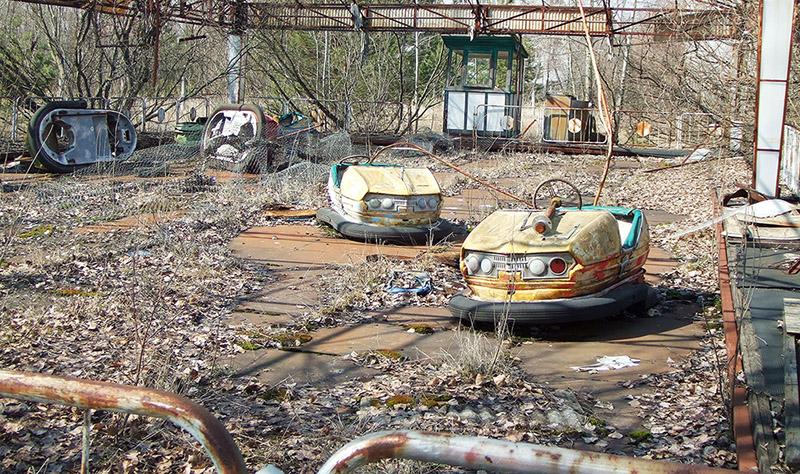 Аттракцион «Автодром», Припять, 2006 год. Источник: ru.wikipedia.org