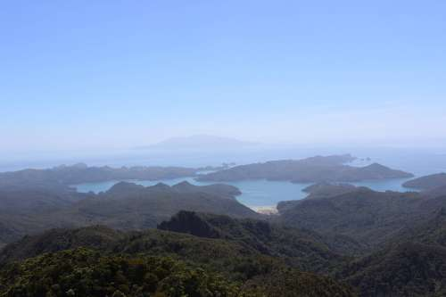 View from Mount Hobson
