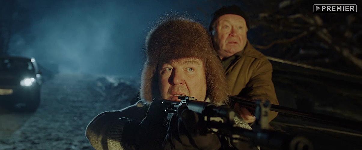 Кадр из сериала «Эпидемия»: Леонид (Александр Робак) и Борис Михайлович (Юрий Кузнецов)
