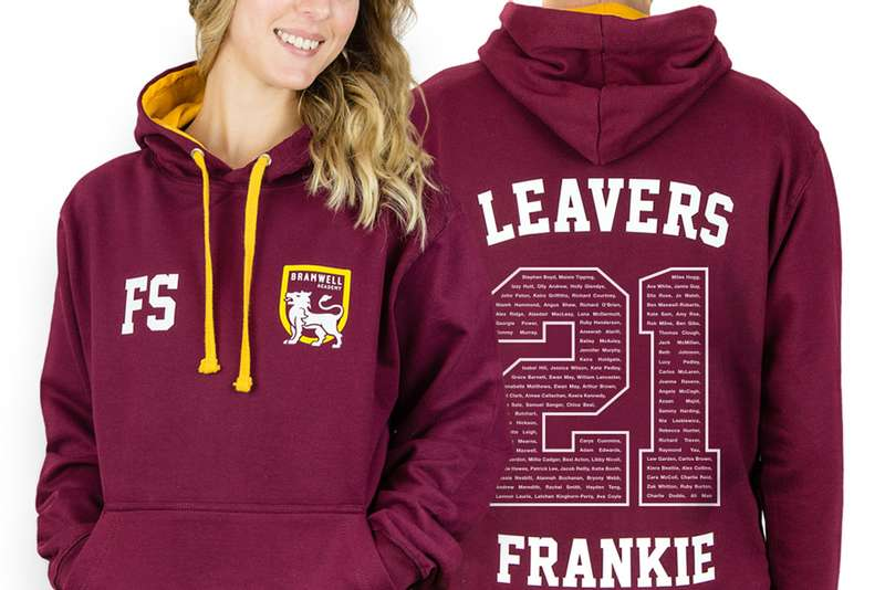 leavers hoodies by hoodiehut.co.uk