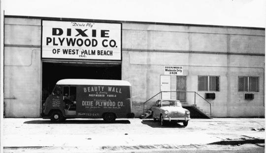 Dixieply Factory circa 1950s