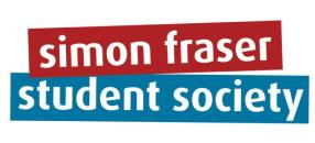 sfu student society logo