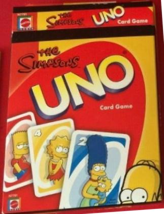 Simpsons Uno (2009)