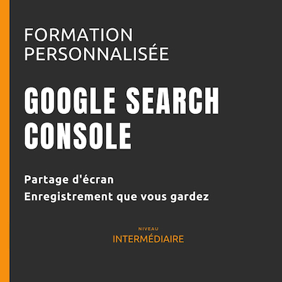 Banner square size for Coaching et formation Google Search Console par WebForGood.fr