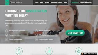 mydissertations.com main page