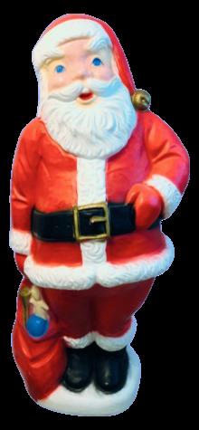 Giant Santa photo