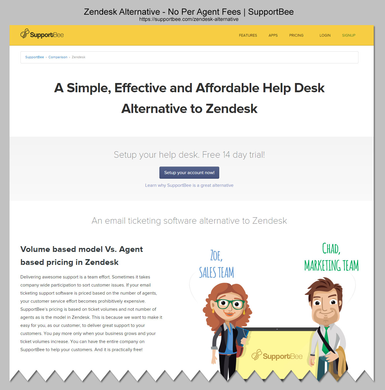 supportbee-zendesk-alternative