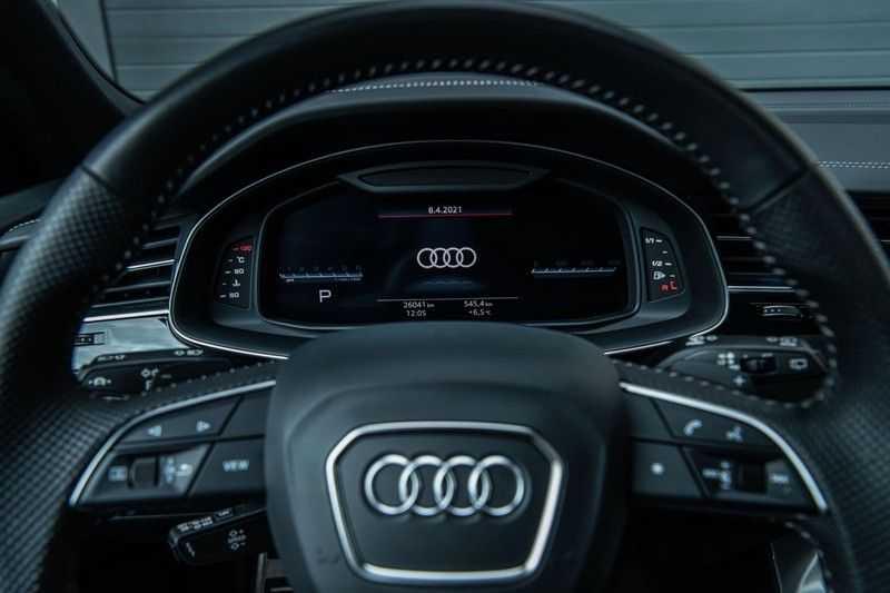 Audi SQ8 Quattro Pro Line S , 435 PK, Black/Optic, Head/Up, Pano/Dak, Valcona/Leder, S/Sportstoelen, 2020, 25DKM!! afbeelding 20