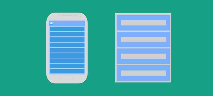 ตัวอย่างการใช้งาน ListView โดยใช้ ListActivity