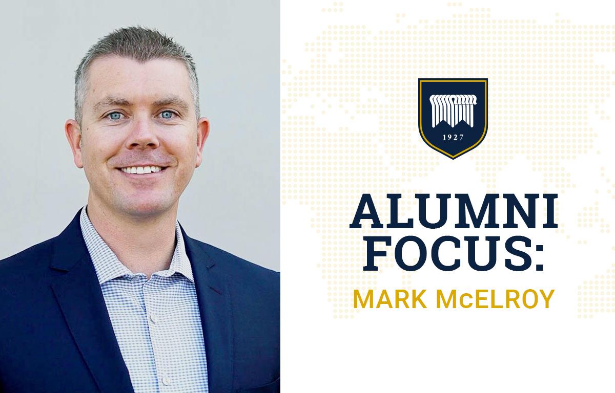 Alumni Focus: Mark McElroy image