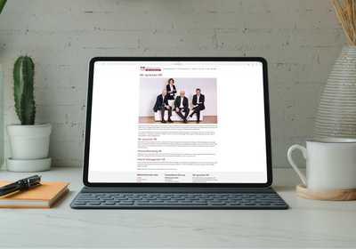FR Recruitment GmbH Betreuung der Website Projekt Screenshot