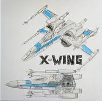 Star Wars Starship X-Wing