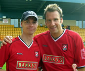 Lee and Paul Merson