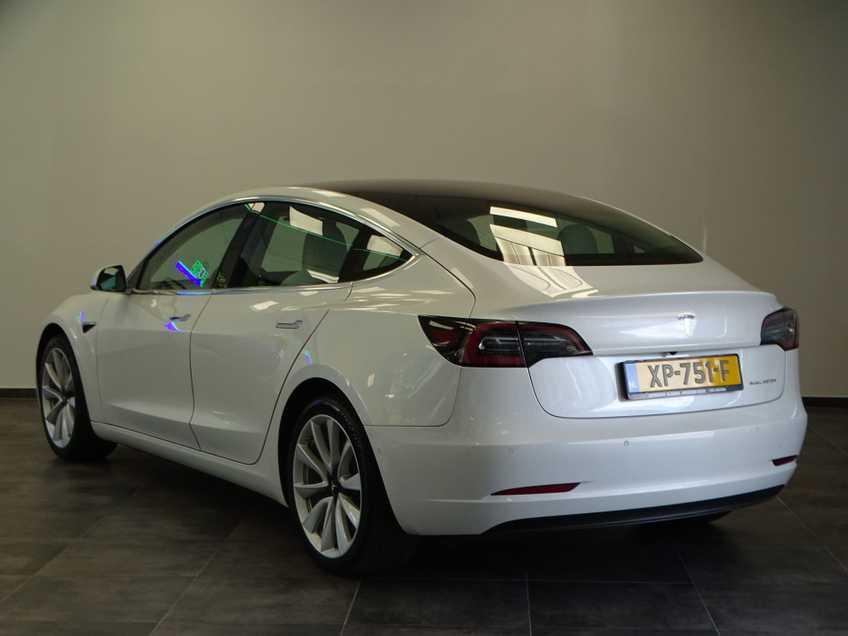 "Tesla Model 3 Long Range   prijs ex.btw 44.450,-   Wit Wit 19""LM% Bijtelling afbeelding 21"