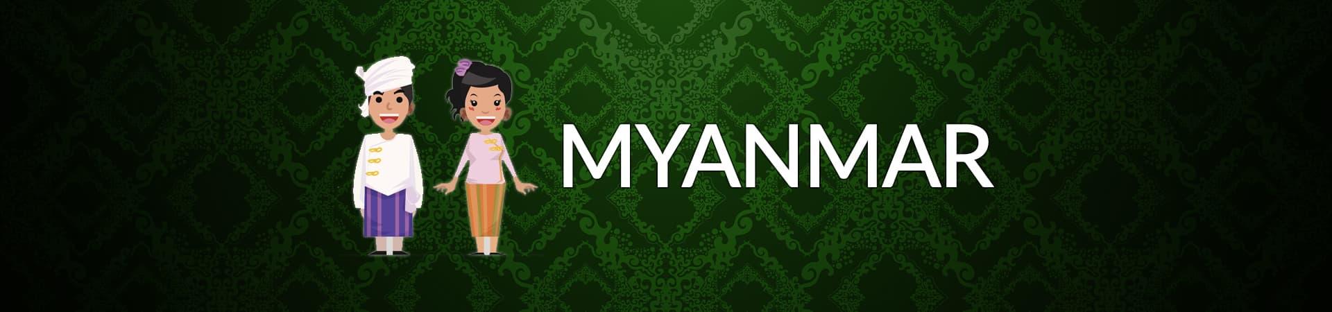 Customs in Myanmar banner
