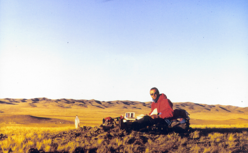 Tomáš J. Fülöpp in Mongolia
