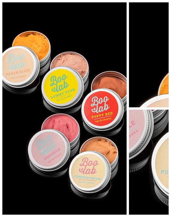 Boolab Lips & Cheeks Popsicle & Peach SLice šminka za usne i obraze u originalnoj ambalaži.