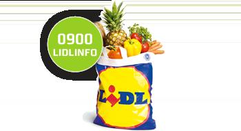 Lidl gebruikt een 0800-nummer.