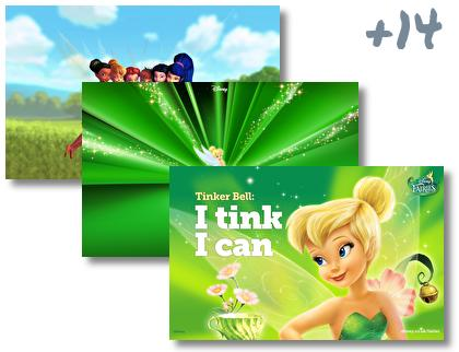 Tinkerbell theme pack