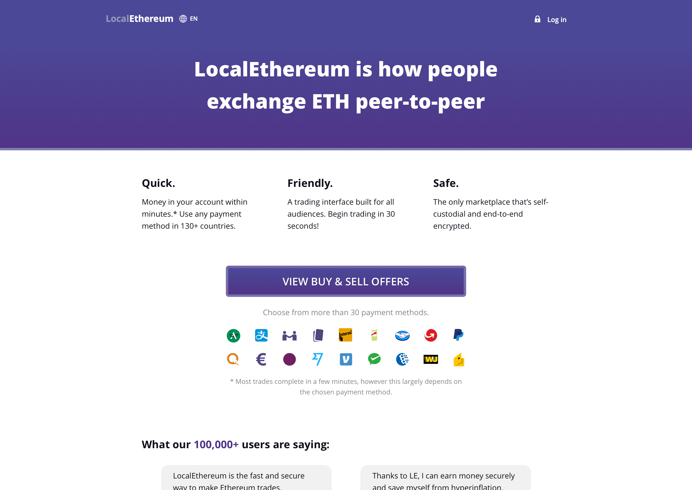 LocalEthereum: decentralized P2P fiat on-ramp for ETH