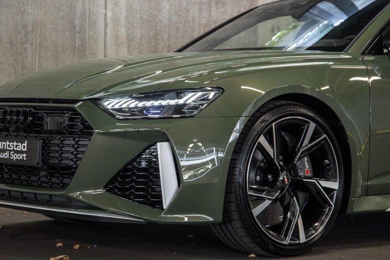 Audi RS6 Avant TFSI 600 pk quattro | 25 jaar RS Package | Dynamic Plus pakket | Keramische Remschijven | Audi Exclusive Lak | Carbon | Pano.dak | Assistentiepakket Tour & City | 360 Camera | 280 km/h afbeelding 9