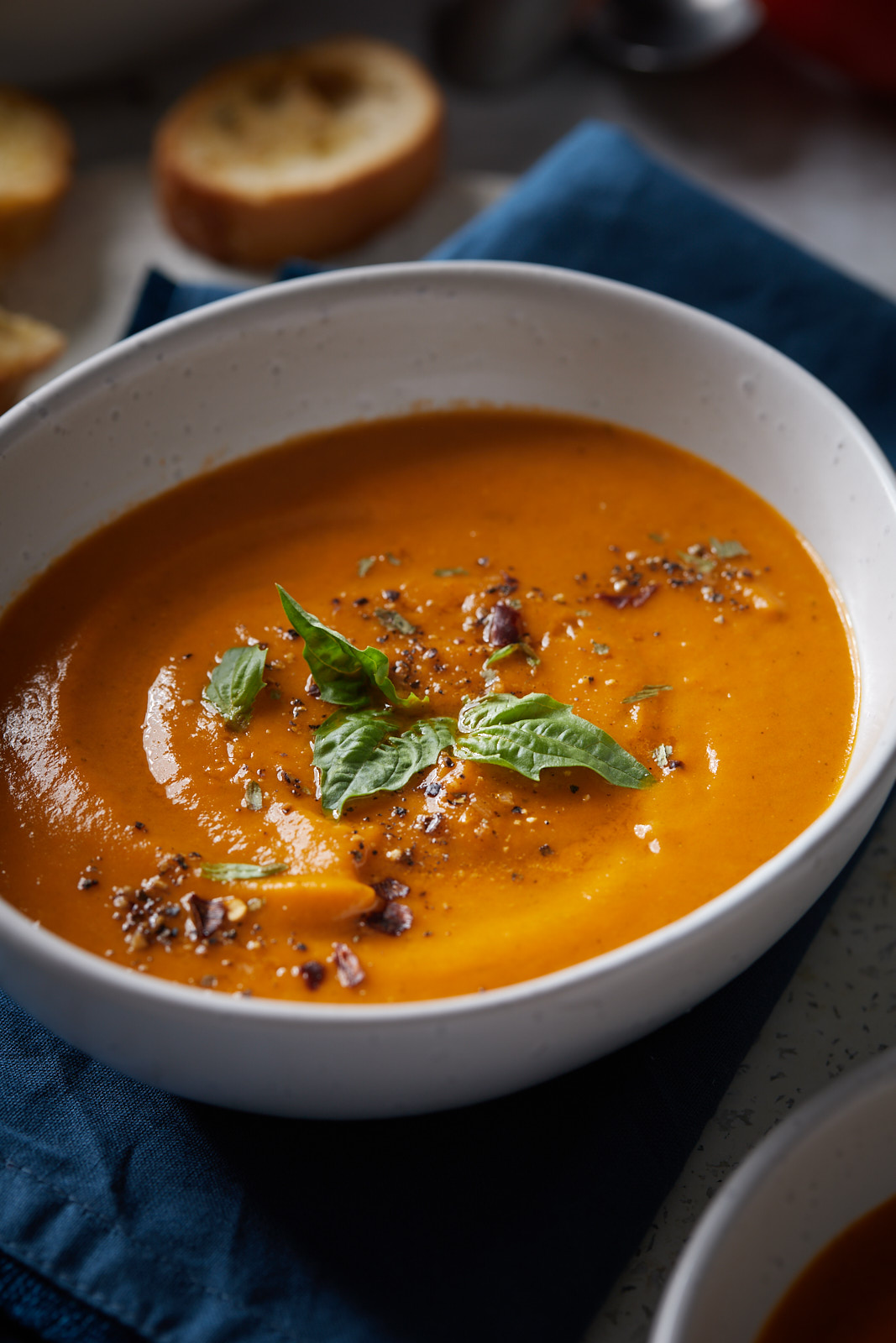 Roasted Tomato And Sweet Potato Soup
