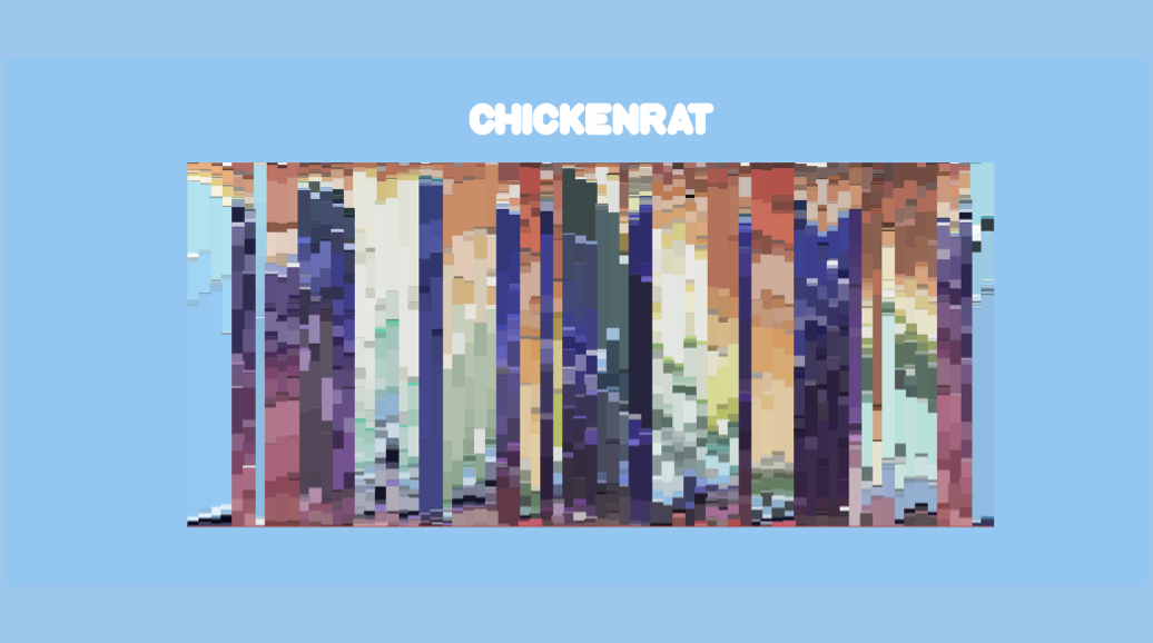 A study of colour composition in the Bluey episode of Chickenrat