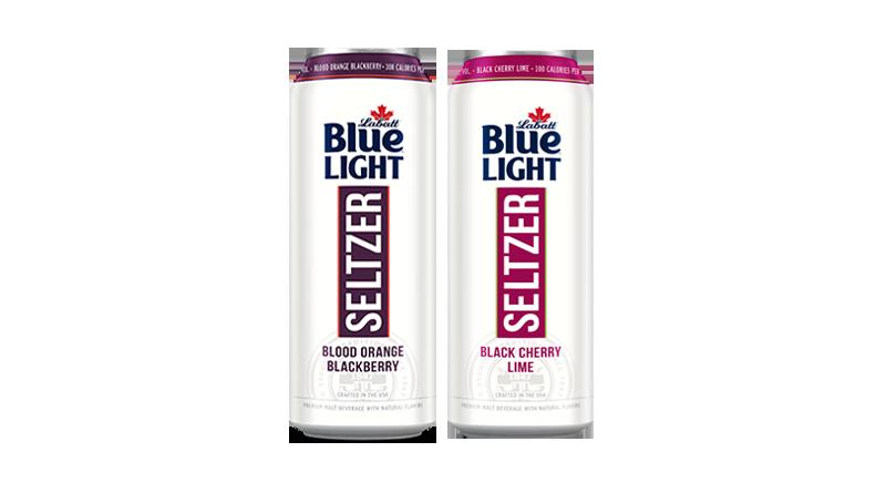 Labatt Blue Light Seltzer 24oz Cans