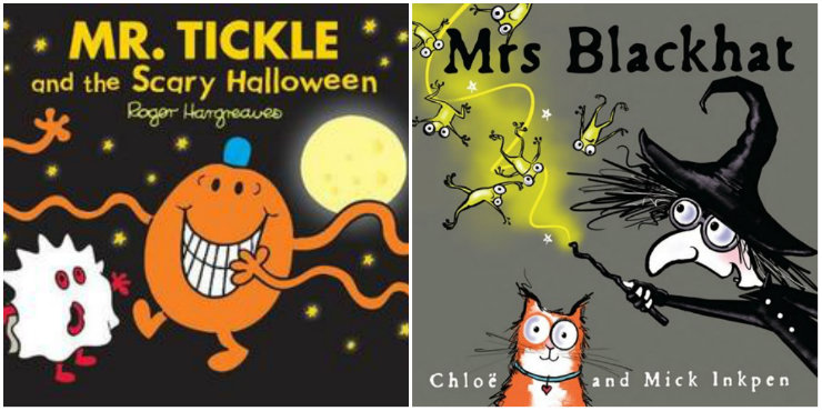 Mr. Tickle and the Scary Halloween, Mrs Blackhat