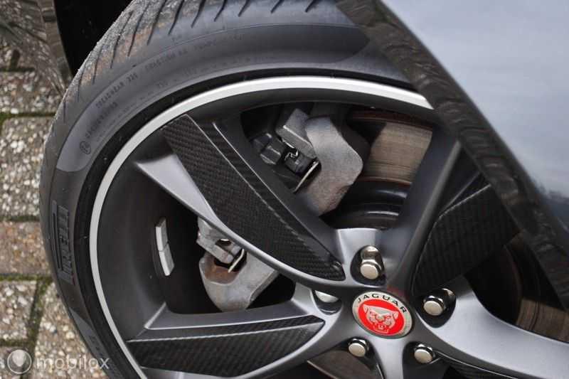 Jaguar F-Type 3.0 V6 Convertible   398 Pk, 500 Nm   Leder   afbeelding 21