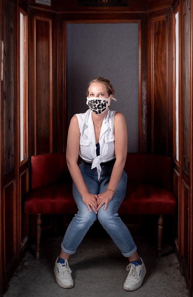 Portrait im Aufzug Studio