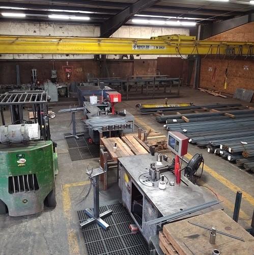 rebar fabrication facility