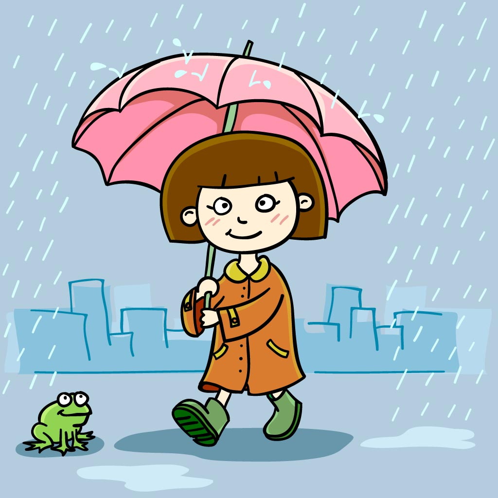 A girl with a frog: Where is Manbhavan?: - A story for kids