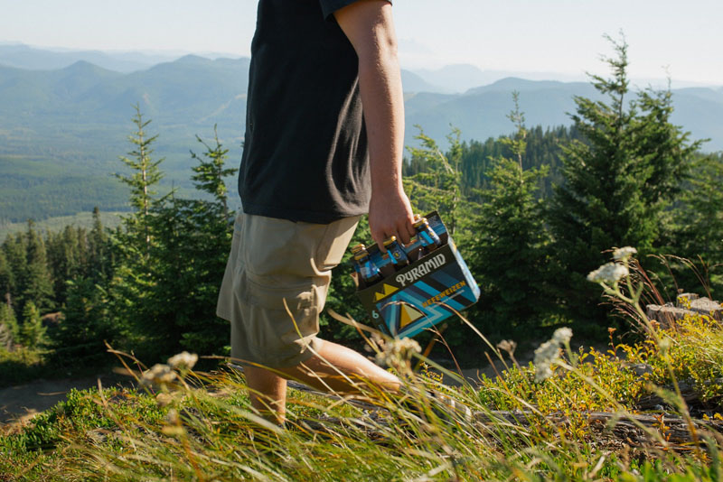 The perfect hiking trail beer - Pyramid Hefeweizen