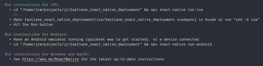 image 01 output npx init