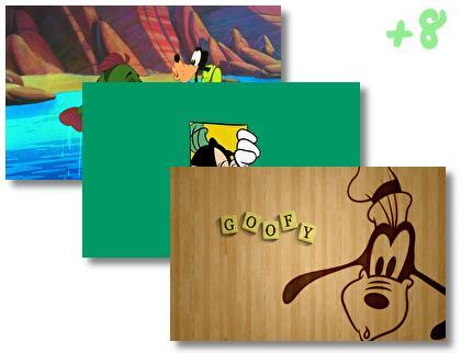 Goofy theme pack