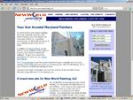 NewWorldPaintingLLC.com Screenshot