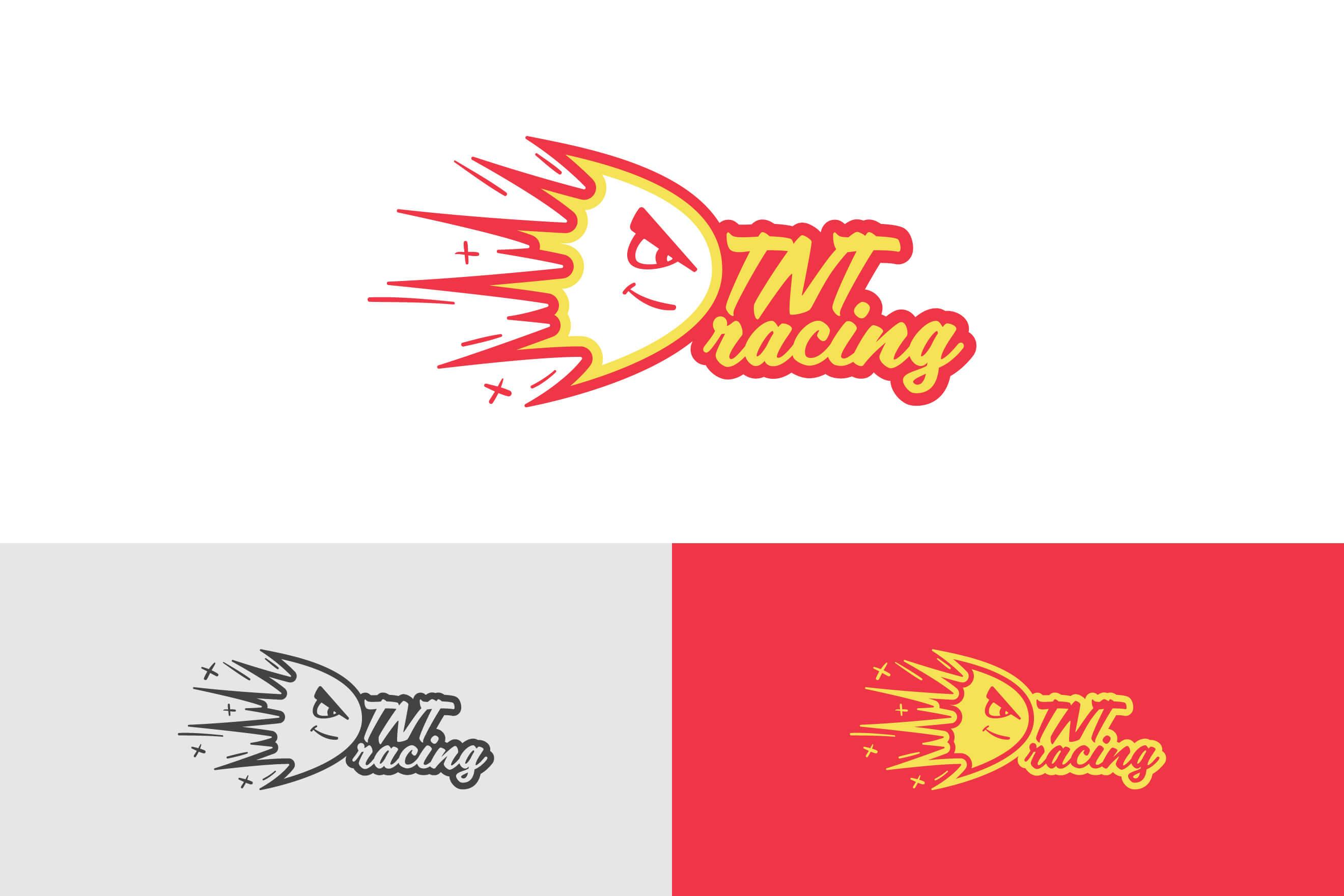 logo design for TNT Racing